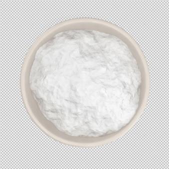 Flour 3d render