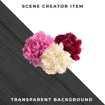 Flower object transparent psd