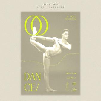 Flyer dance academy template
