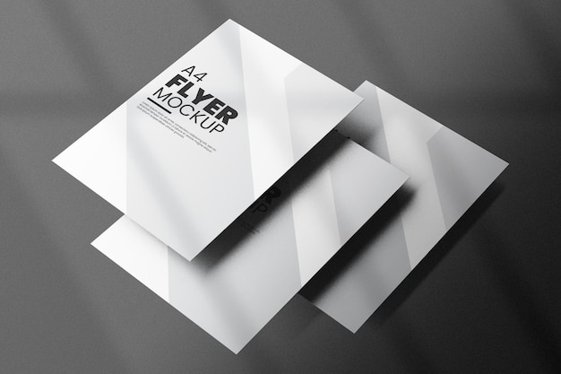 Дизайн макета флаера изолированные