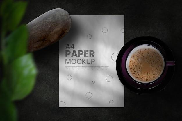 Дизайн макета флаера с кривой текстурой бумаги
