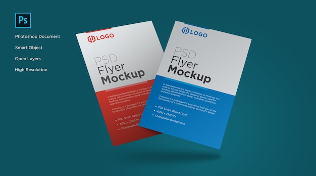 Flyer and poster mockup design