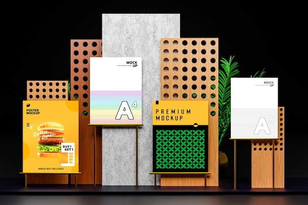 Flyer and poster mockup showcase