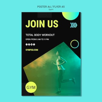Flyer sport business template