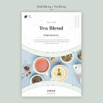 Flyer for tea time
