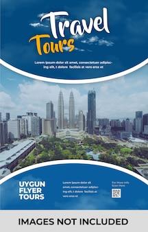 Flyer travel agency