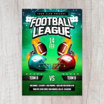 Футбольная лига flyer