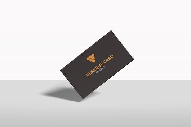 Летающий визитная карточка макет