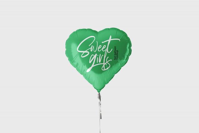铝箔气球样机