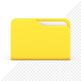 폴더 3d 아이콘