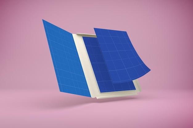 Макет дизайна папки
