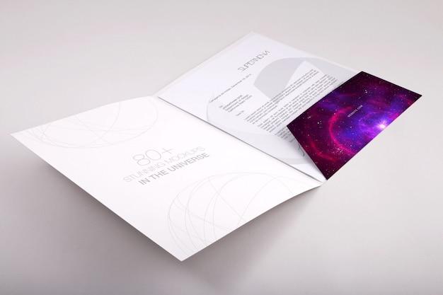 Folder mock up design