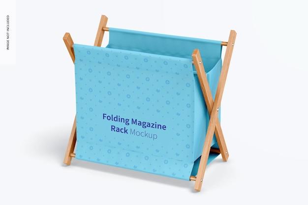 Складной макет стеллажа для журналов