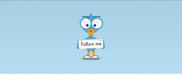 Follow me bird