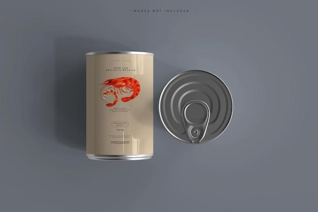 食品缶モックアップ