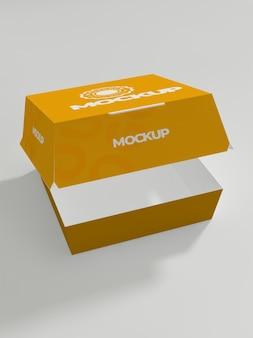 Макет картонной коробки