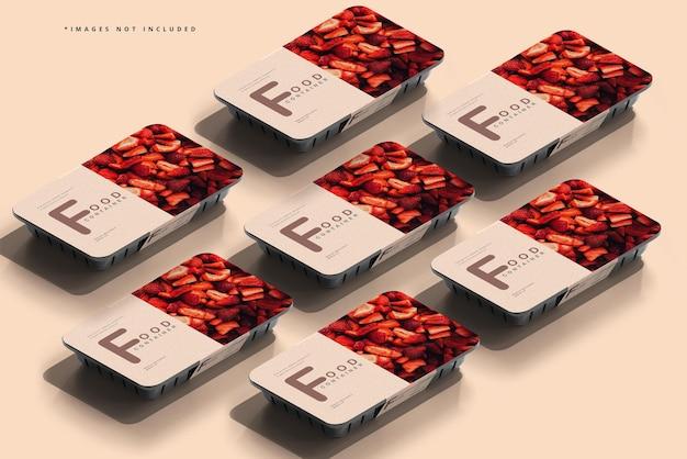 식품 용기 모형