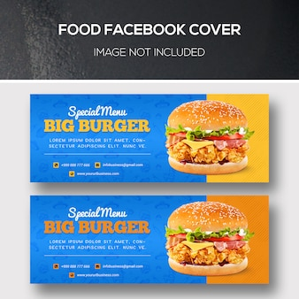 Food facebook covers