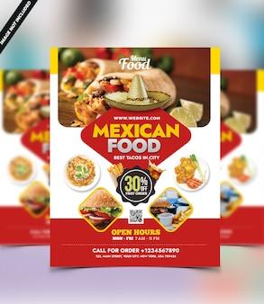 Food menu template