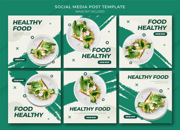 食品オンラインショッピングinstagram投稿バンドルテンプレート