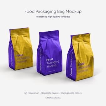 Мокап для упаковки пищевых продуктов