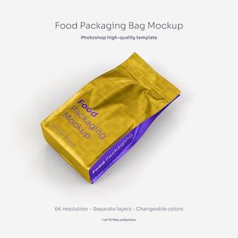 Мокап для упаковки пищевых продуктов Premium Psd
