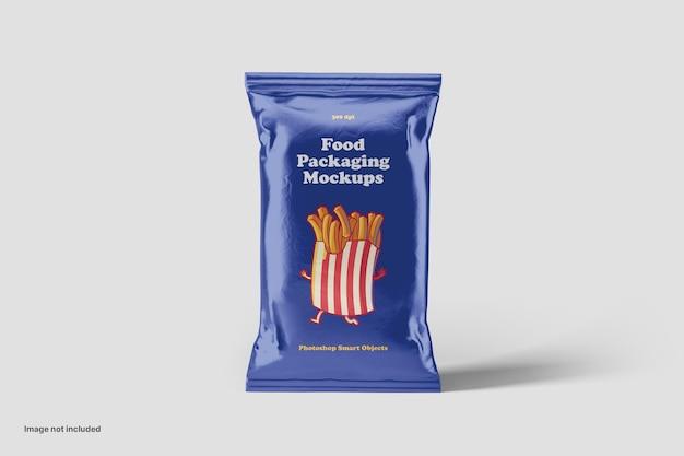 식품 포장 모형