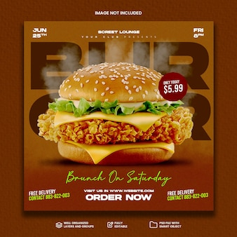 Food social media promotion and instagram