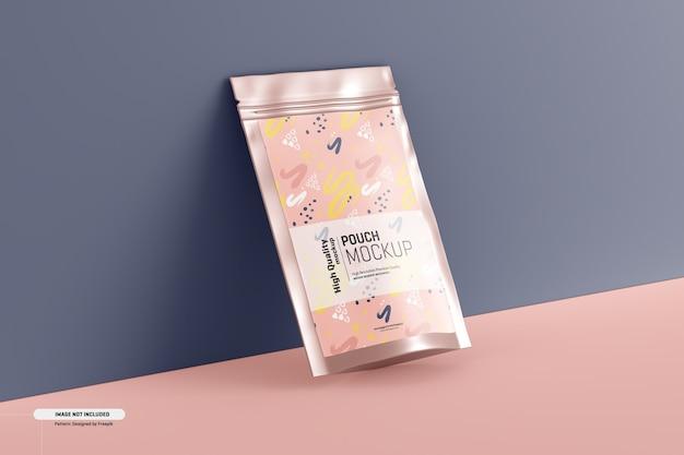 栄養補助食品ポーチ包装モックアップ