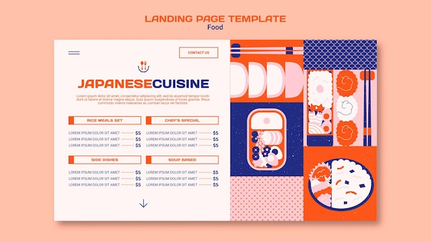 Food web template