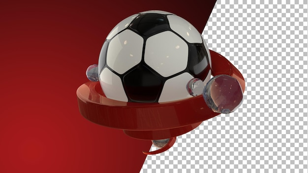 サッカーサッカー3dレンダリンググラフィックス
