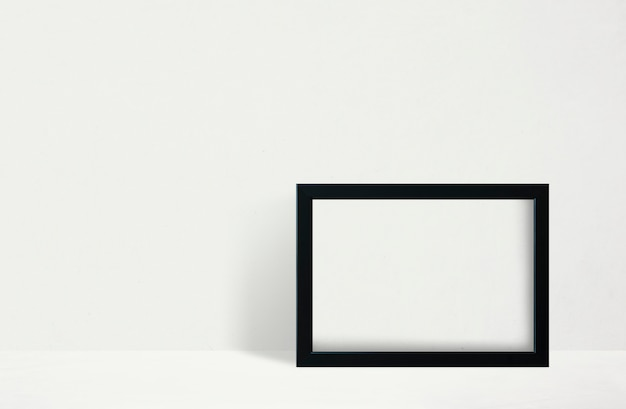 Frame against wall