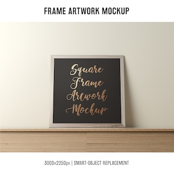 Frame artwork mockup