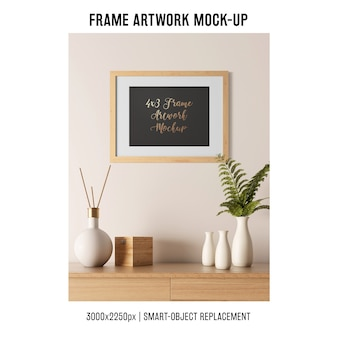 Frame artwork mockup