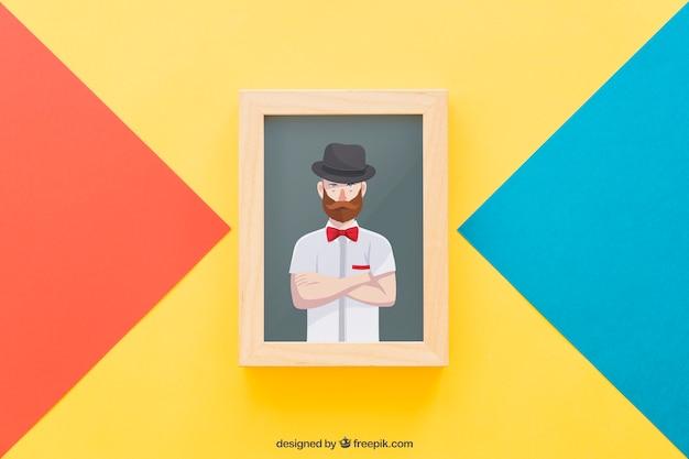Frame mock up concept
