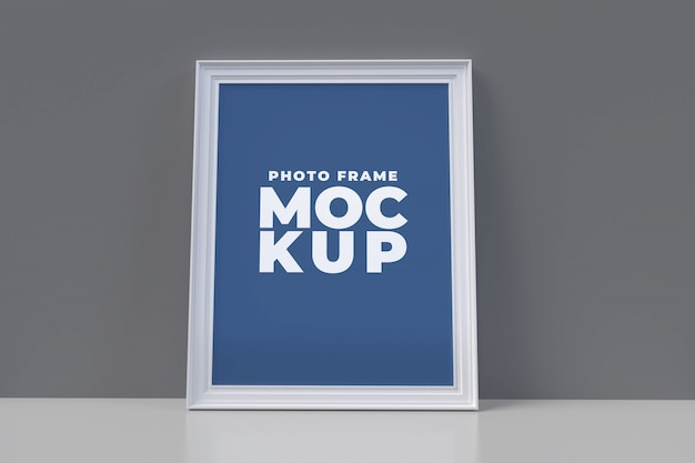 Frame mock-up poster