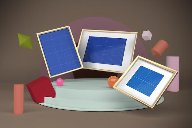 Frame mockup designs