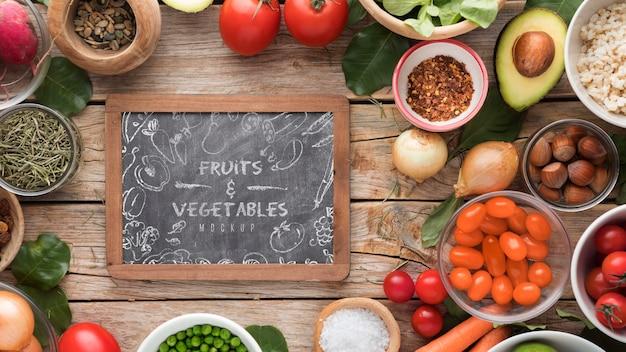 Рамка из овощей