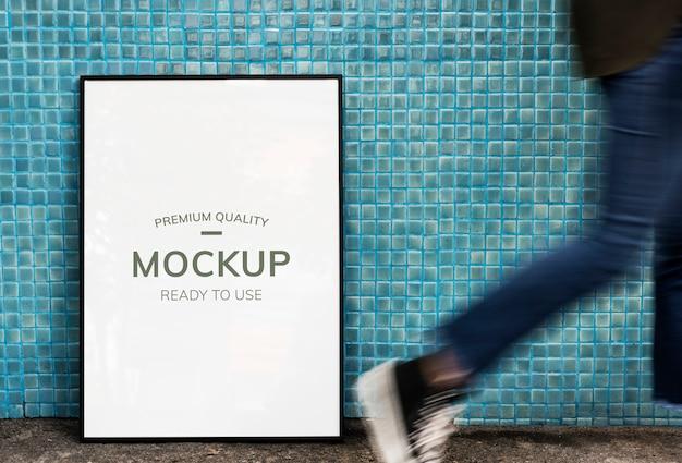 Framed advertising space
