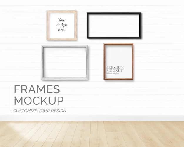 Frames mockup collection