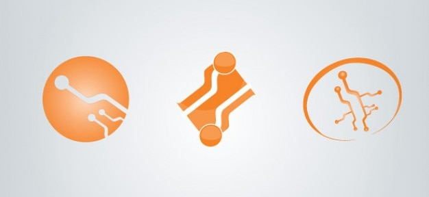 Free electronics logo template
