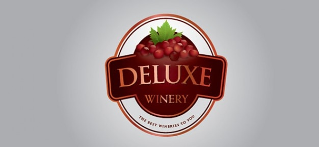 Free winery logo