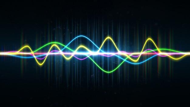 주파수 오디오 음악 이퀄라이저