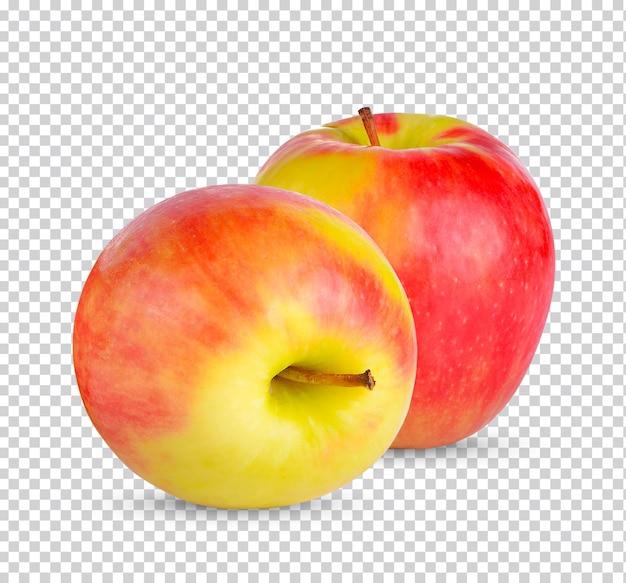 Свежее яблоко изолированно премиум psd