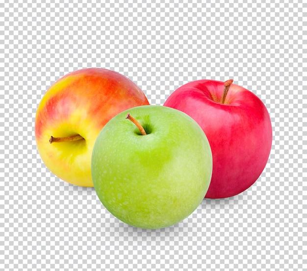 신선한 사과 절연 프리미엄 psd