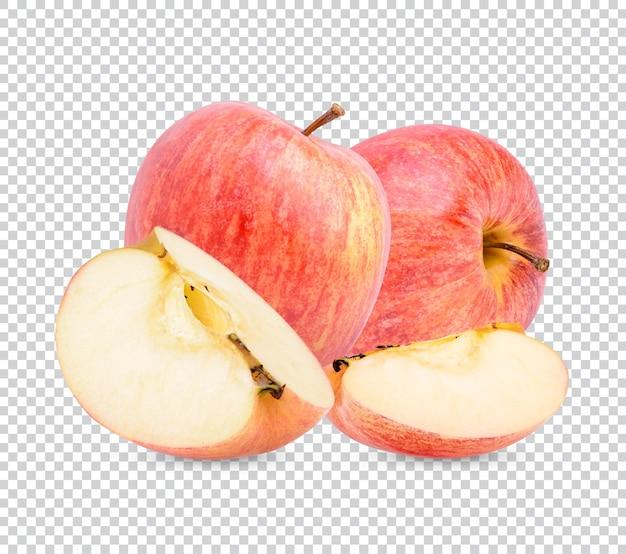 新鮮なリンゴの分離プレミアムpsd