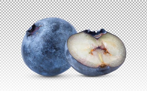 Fresh blueberry isolated