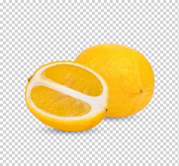 Изолированный свежий лимон премиум psd