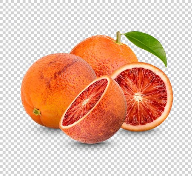 Изолированный рендеринг свежей апельсиновой крови