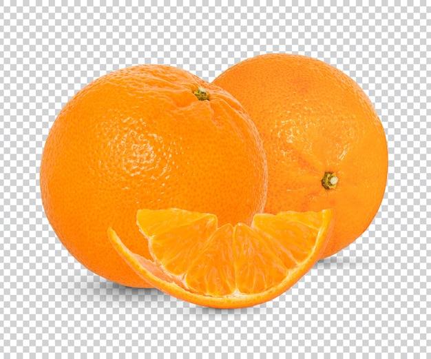 Свежий апельсин изолированный premium psd